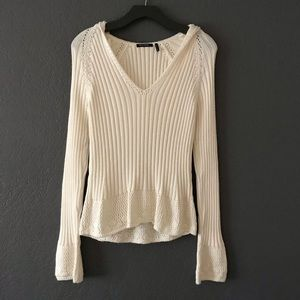 LAST CHANCE! Daisy Fuentes Knitted Sweater w Hood